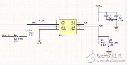 智能路径识别模块电路设计