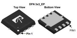 AOS AONR21357 30V P-Channel 功率MOSFET